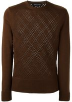Neil Barrett crew neck jumper - men - Wool - L
