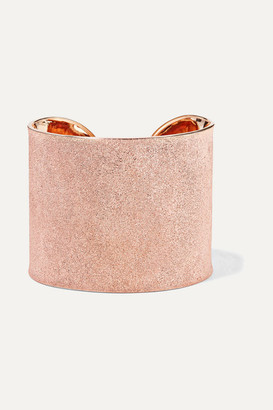 Carolina Bucci Florentine 18-karat Rose Gold Cuff - one size