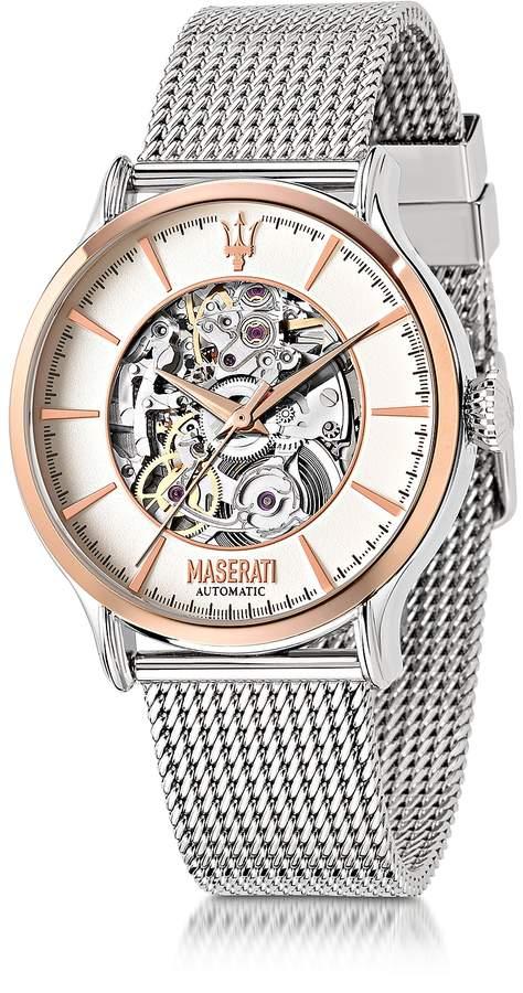 Epoca Maserati Two Tone Stainless Steel Men's Watch