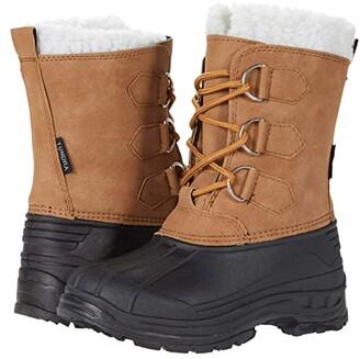 Tundra Boots Kids Snow Bird (Little Kid/Big Kid) (Tan) Kids Shoes
