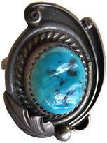 One Kings Lane Vintage Southwestern Silver & Turquoise Ring