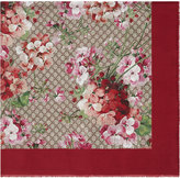 Gucci GG Supreme Blooms scarf - women - Silk/Modal - One Size