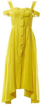 Isa Arfen \N Yellow Silk Dresses