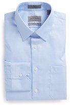 John W. Nordstrom Traditional Fit Non-Iron Houndstooth Dress Shirt
