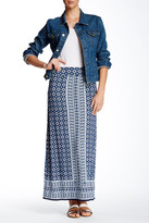 Max Studio Printed Maxi Skirt
