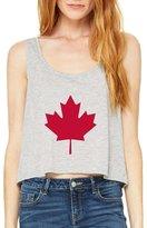 Xekia Canada Toronto Maple Leafs Proud Canadian Women's Boxy Tank Top