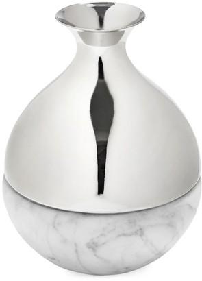 Anna New York Dual Bud Vase Carrara