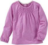 Osh Kosh Toddler Girl Smocked Neon Top