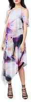 Rachel Roy Cold Shoulder Asymmetric Dress