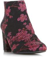 Head Over Heels Orlina Floral Jacquard Ankle Boots