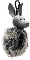 KENDALL + KYLIE Bambi Faux Fur Dog Charm