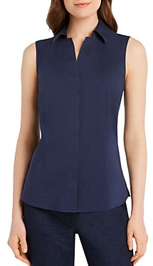 Foxcroft Taylor Sleeveless Non-Iron Stretch Shirt
