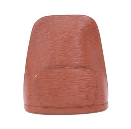 Louis Vuitton excellent (EX Gobelins Brown Epi Leather Backpack Bag
