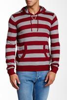 Yoki Long Sleeve Striped Hoodie