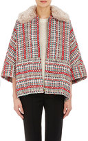 TOMORROWLAND Women's Tweed Jacket-RED
