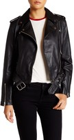 Helmut Lang Walter Baker Allison Leather Moto Jacket