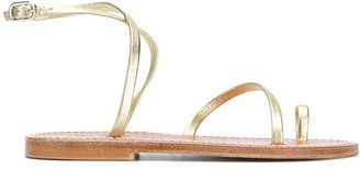 K. Jacques Loki toe-strap sandals