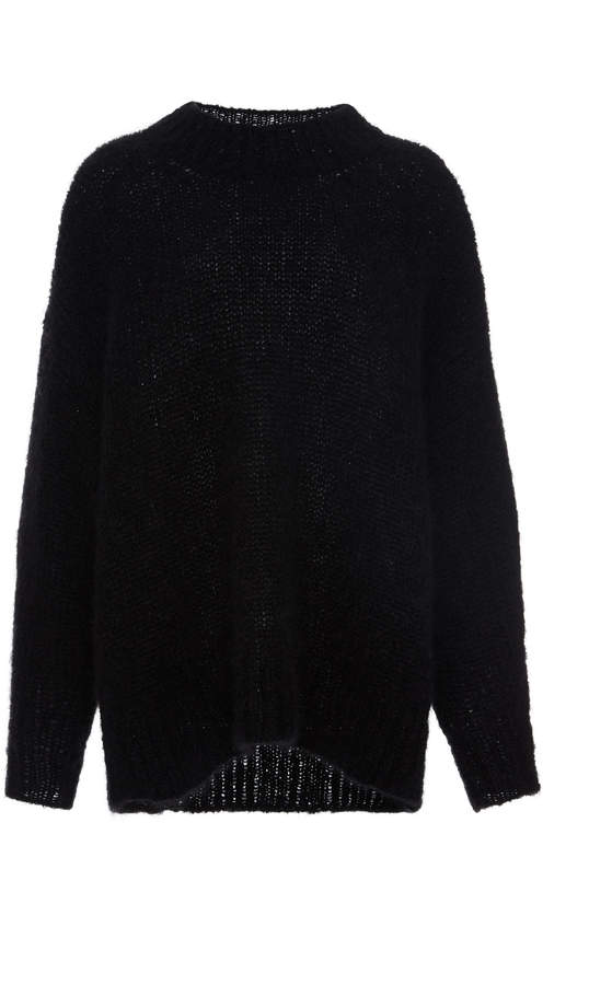 Isabel Marant Idol Oversized Ribbed Wool Sweater