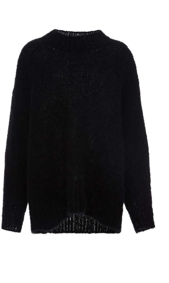 Isabel Marant Idol Oversized Ribbed Wool Sweater Size: 36