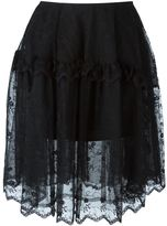 Simone Rocha embroidered tulle skirt