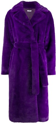 P.A.R.O.S.H. Belted Double Breasted Coat