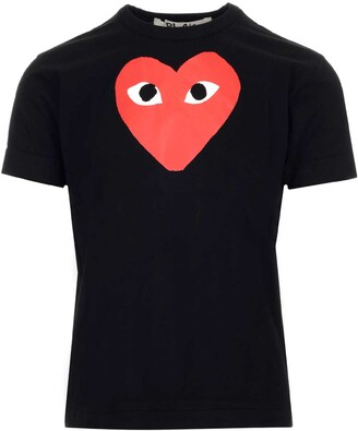 Comme des Garcons Printed Heart T-Shirt