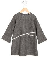 Christian Dior Girls' Wool Shift Dress