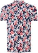 Howick Men's Garden Flower Short Sleeve Shirt