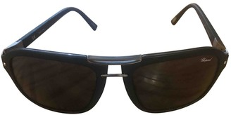 Chopard Black Plastic Sunglasses