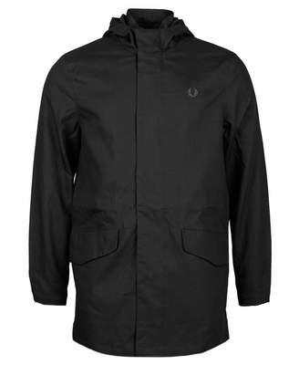 Fred Perry Authentics Fishtail Parka Jacket Colour: BLACK, Size: MEDIU