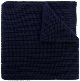 Dolce & Gabbana Ribbed Knit Scarf