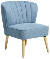 Pulaski Blue Channel Stitch Accent Chair
