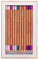 Ted Baker Porcelain Rose Coloring Pencil- Set of 12