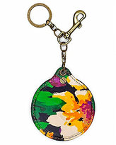 Patricia Nash Summer Evening Bloom Collection Liscia Mirror Key Chain