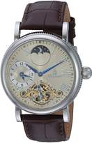 Burgmeister Men's BM226-175 Analog Display Automatic Self Wind Brown Watch