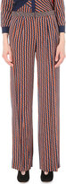 Diane Von Furstenberg Campbell Wide-leg Stretch-silk Trousers
