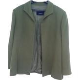 Burberry Green Wool Jacket