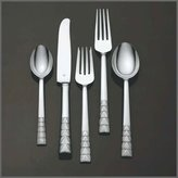 Vera Wang Plisse Stainless 5 Piece Place Setting Flatware