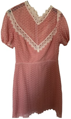 Sandro Spring Summer 2019 Pink Lace Dress for Women