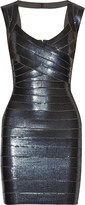 Herve Leger Sarai sequined bandage dress