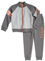 Armani Junior Track Jacket & Pants Set (Little Boys & Big Boys)