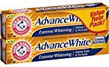 Arm & Hammer Advance White Extreme Whitening Baking Soda and Peroxide Toothpaste, 6 Ounce, Twin Pack (4 PACK)