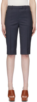 Givenchy Navy Bermuda Shorts