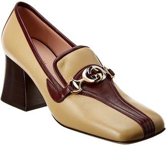 Gucci Zumi Leather Loafer