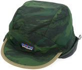 Patagonia camouflage logo patch hat