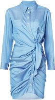 Veronica Beard Sierra ruched dress - women - Lyocell - 0
