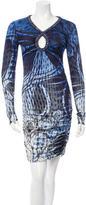 Emilio Pucci Embellished Printed Dress