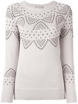 Laneus studded jumper - women - Polyamide/Viscose/Aluminium/Brass - 42