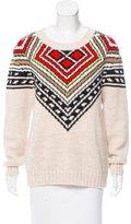 Mara Hoffman Geometric Pattern Knit Sweater