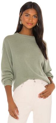 Alice + Olivia Denver Round Hem Sweater
